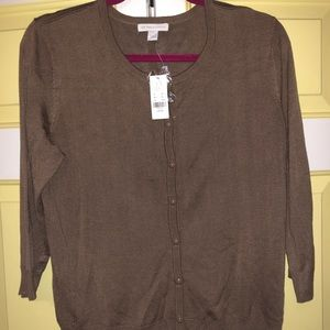 New York and Company Button Down Top Longsleeve